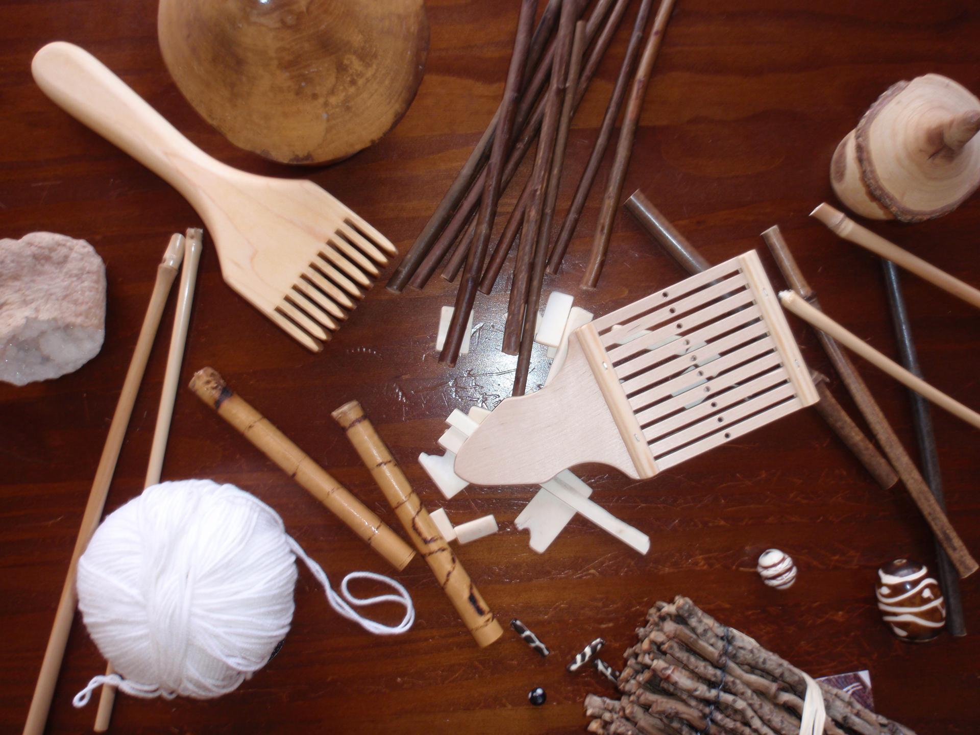 Matériaux naturels utilisés dans mes créations