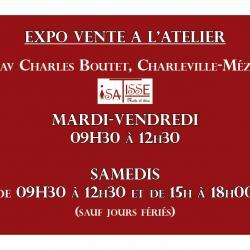 OUVERTURE DE L'ATELIER ISATISSE AU 140 AV. Charles Boutet!