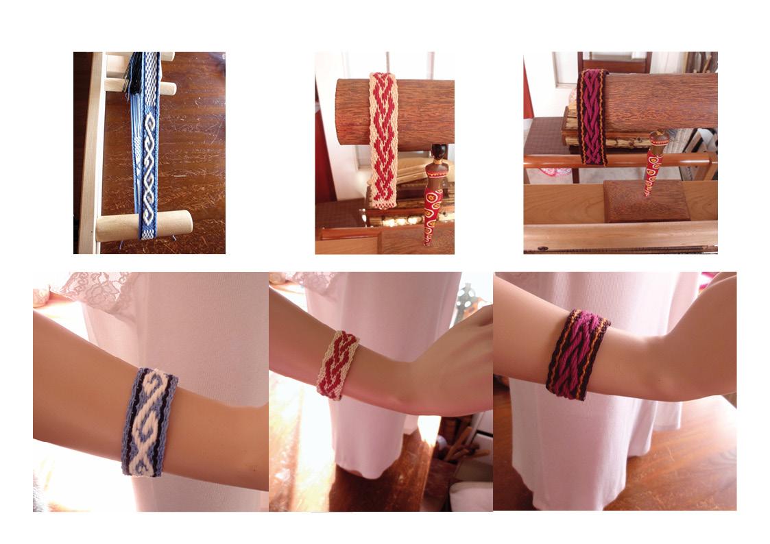 Nouveau: bracelets aux motifs anciens