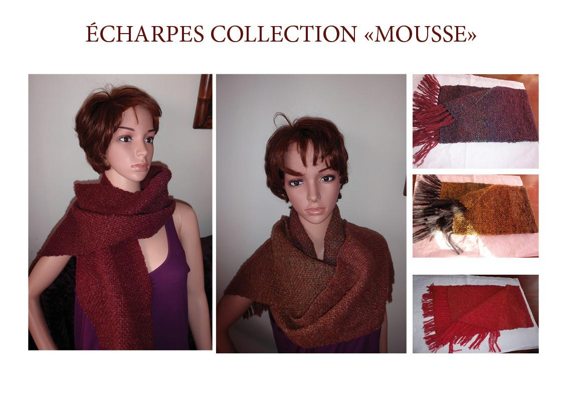 Echarpes collection MOUSSE!