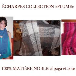 ECHARPES COLLECTION PLUME