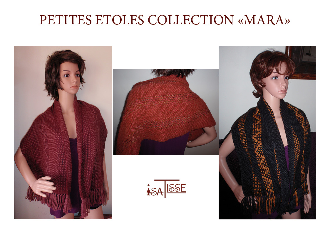 Petites étoles collection