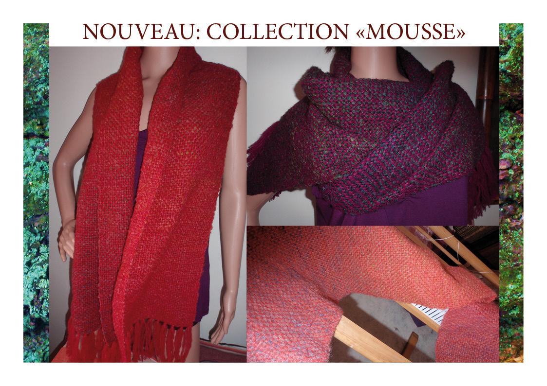 NOUVEAU! Collection MOUSSE!