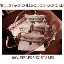 SOUTENEZ LES ARTISANS FRANCAIS! NOUVEAU: PETITS SACS COLLECTION ACCORD