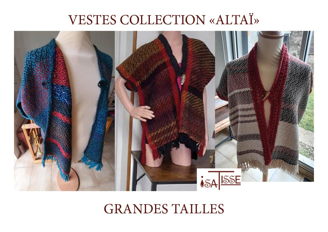 VESTES EN LAINE COLLECTION ALTAÏ!