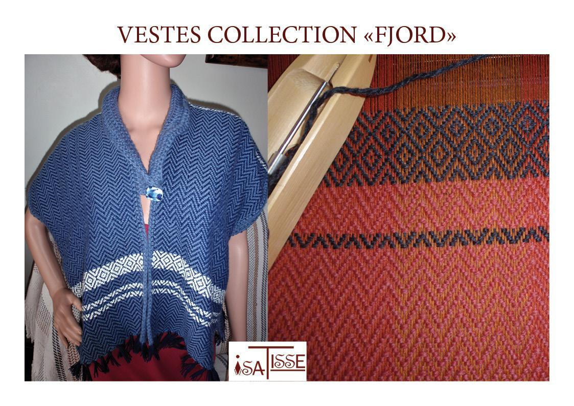 NOUVEAU: des vestes en laine bien chaude!